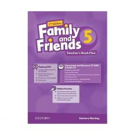 American Family and Friends 2nd 5 Teachers book+CD