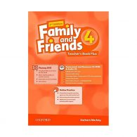 American Family and Friends 2nd 4 Teachers book+CD