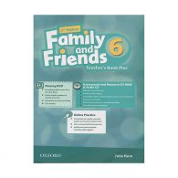 American Family and Friends 6 Teachers book+CD
