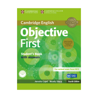 Objective first students books fourth edition