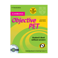 Objective PET students books second edition