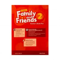 American Family and Friends 2 Teachers book+CD