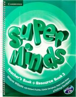 Super Minds 3 Teachers Book+CD