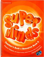 Super Minds 4 Teachers Book+CD