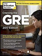 Cracking the GRE with 4 Practice Tests 2017+DVD
