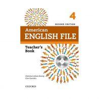 American English File teachers book 4