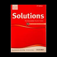 Solutions Pre-Intermediate Teachers Book 2nd