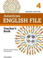 American English File teachers book 4 ویرایش دوم