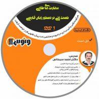 dvd دی وی دی مهارت های طلایی تست زنی در دستور زبان فارسی احمد سبحانی ونوس