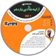 dvd دی وی دی هنر تست زنی آرایه های ادبی یازدهم علی آبان ونوس