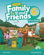 Family and Friends 6 British ویرایش دوم