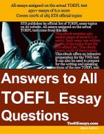 Answer To All Toefl Essay Question