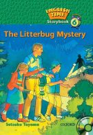 English Time story book 6 The Litterbug Mystery