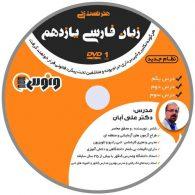 dvd دی وی دی هنر تست زنی زبان فارسی یازدهم علی آبان ونوس